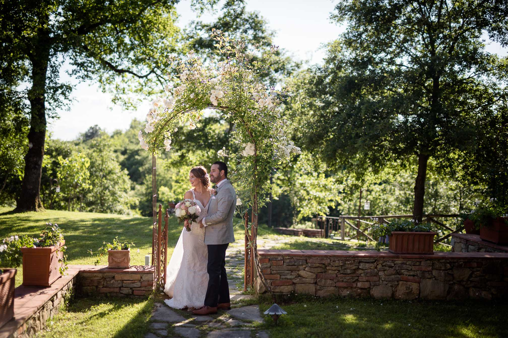 Laura & Gustavo – an intimate wedding in Chianti