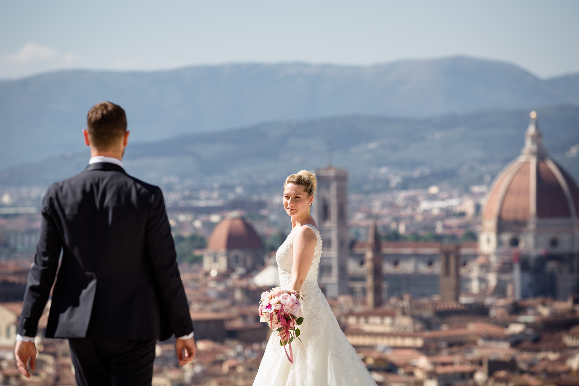 Alissa & Marco: a wedding ceremony between Florence and Tuscan country